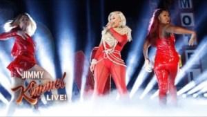 "Iggy Azalea Performs ""sally Walker"" On Jimmy Kimmel Live!"
